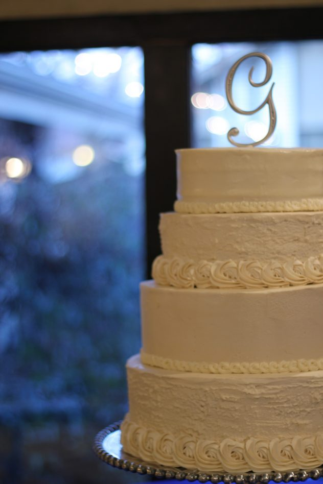 Graham Wedding Cake